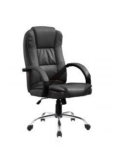 Mahmayi C300 Highback PU ErgonomicExecutive Chair - Black