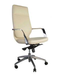 Alba 256 Executive High Back Chair Beige PU