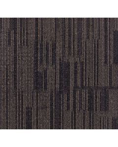 Mahmayi Yellowknife 100% Invista Naylon 6 Carpet Tile for Home, Office (50cm x 50cm) Per Square Meter With Free Professional Installation - Dark Brown